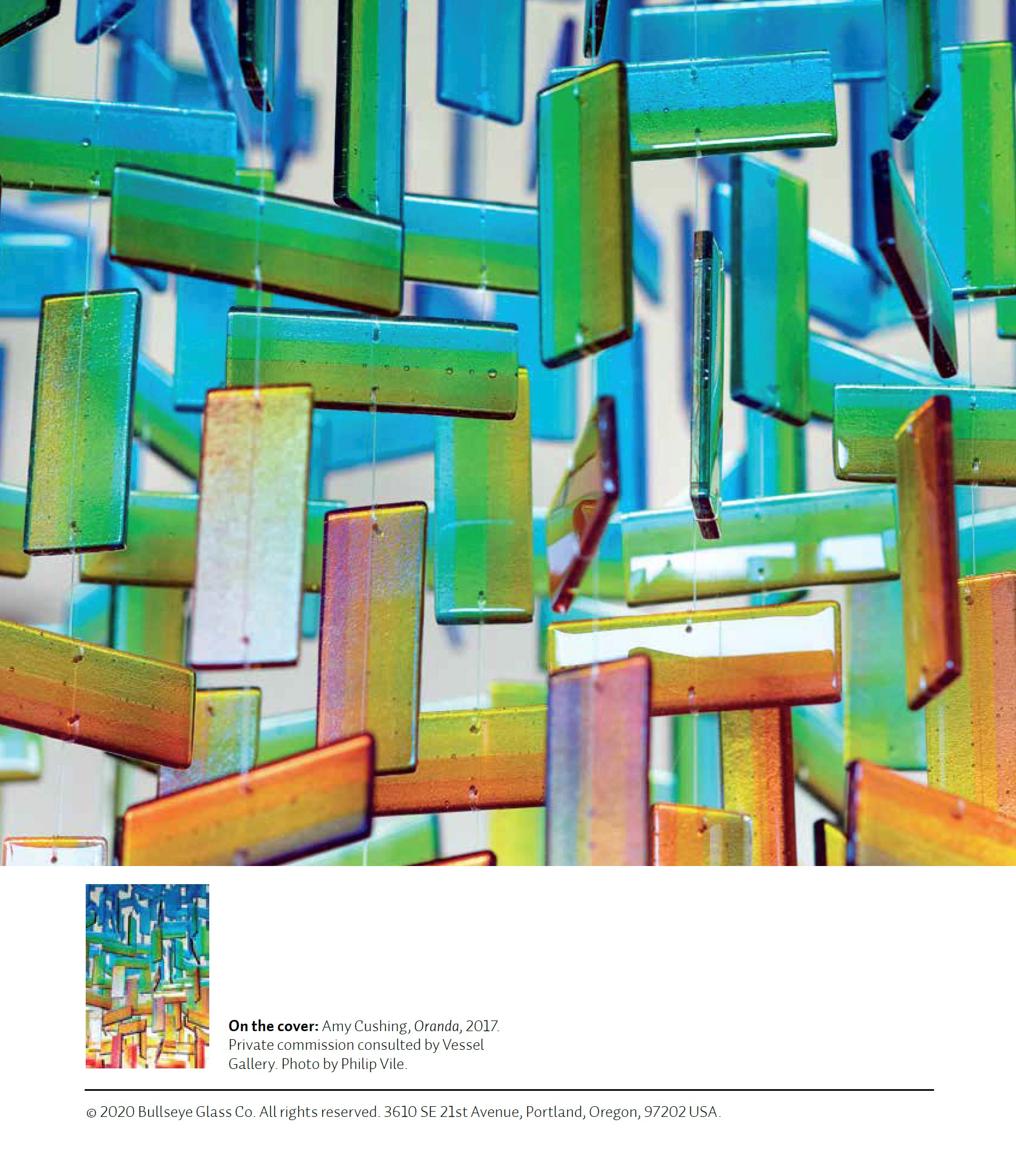 amy cushing colourful hanging glass art bright and joyful