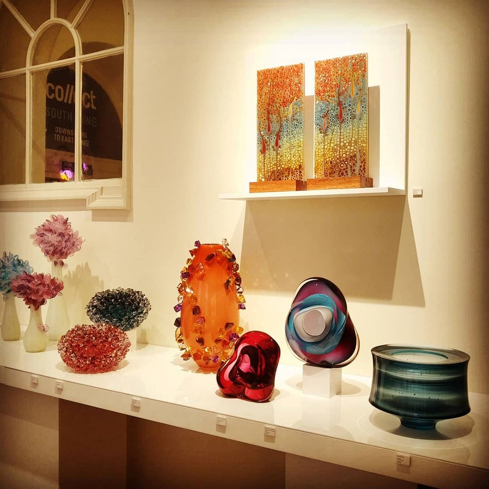 vessel gallery art at collect 2020 somerset house