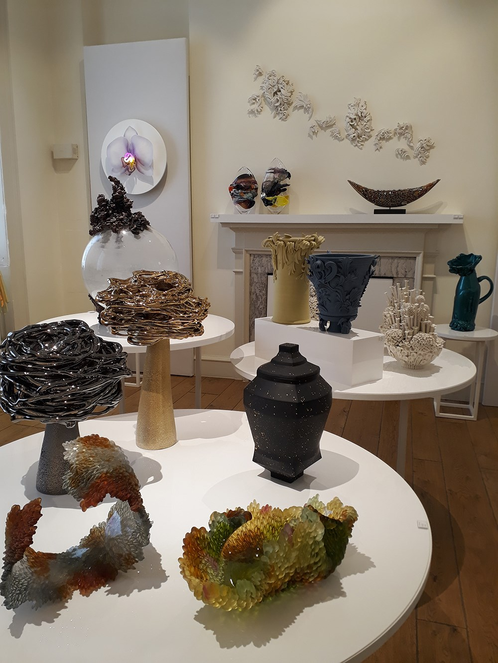 vessel gallery room at collect 2020 somerset house