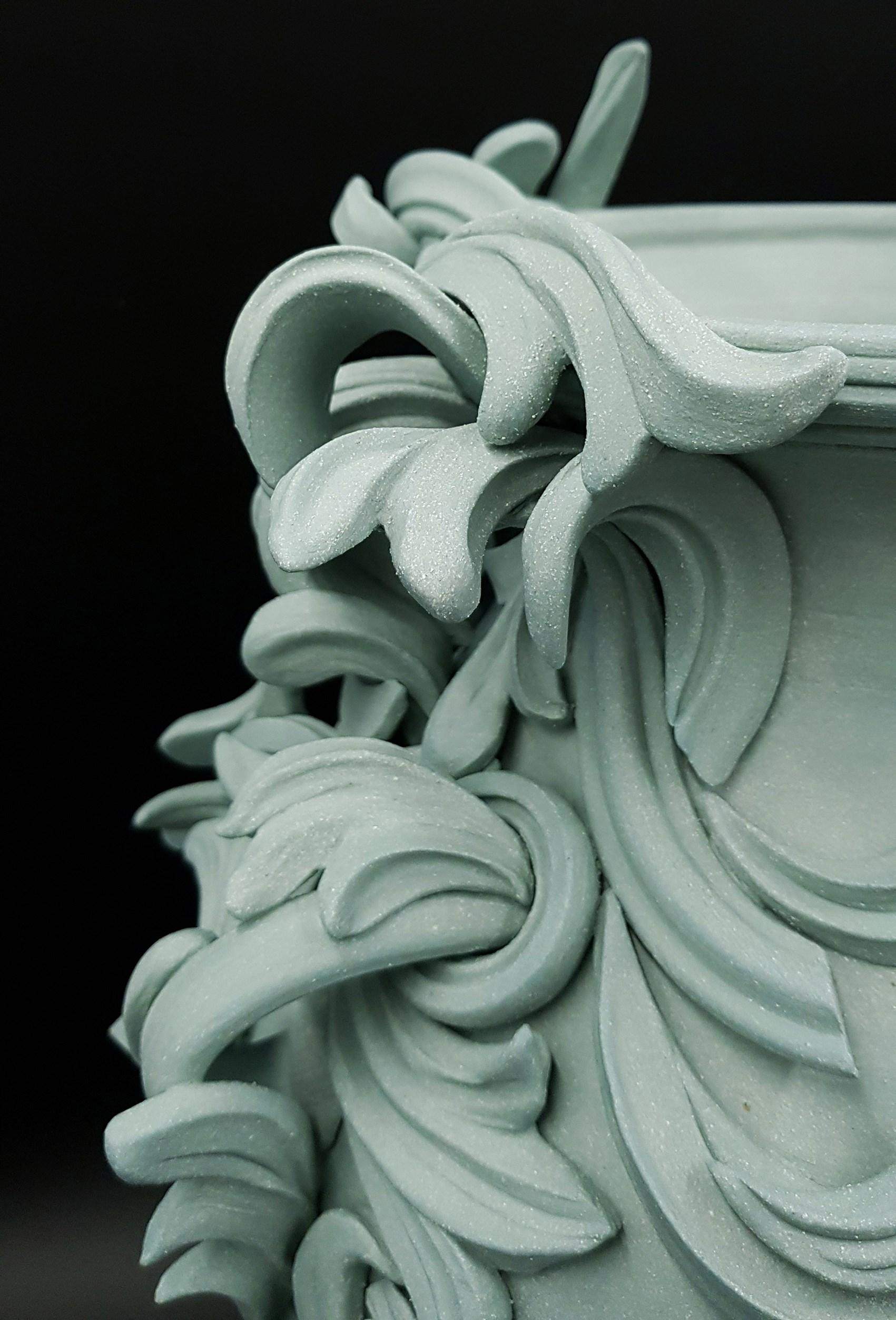 jo taylor vari capitelli sculpture ceramic detail