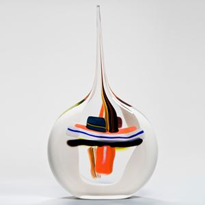 Sails Vase in White