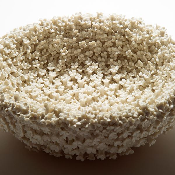 Hydrangea Low Bowl