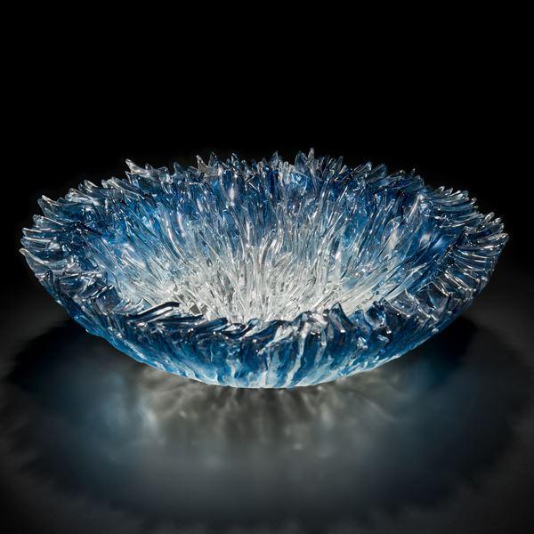 Bloom Bowl in Aqua