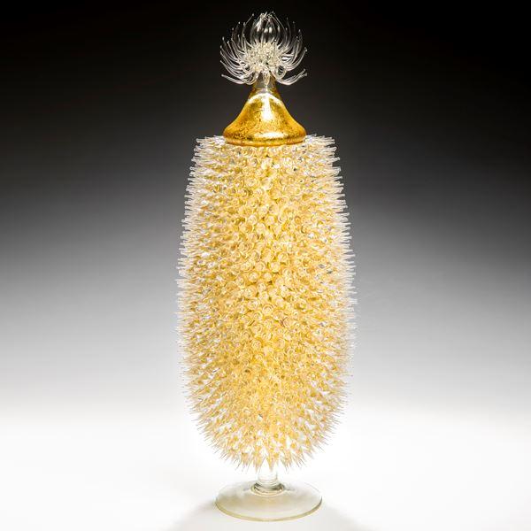 Midas Jar with Thistle