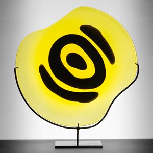 Plate in Yellow