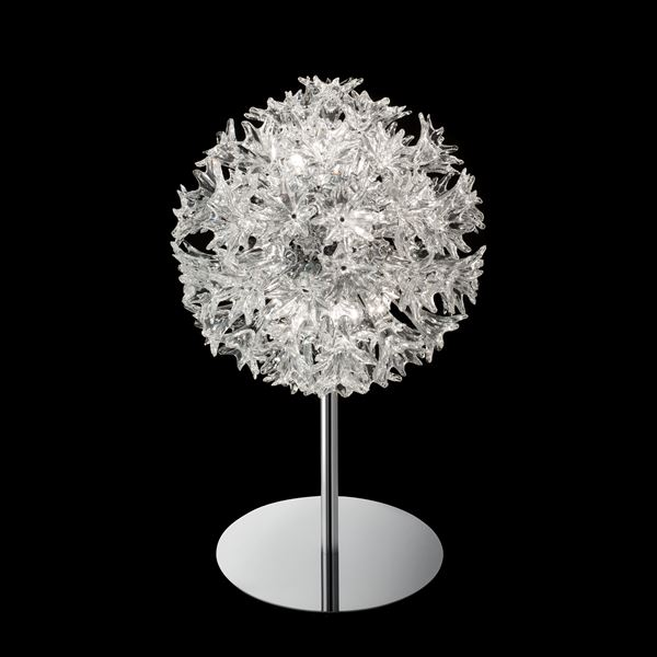 decorative art glass lights in spherical shapes