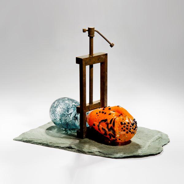 political art glass sculpture mixed media black lives matter movement