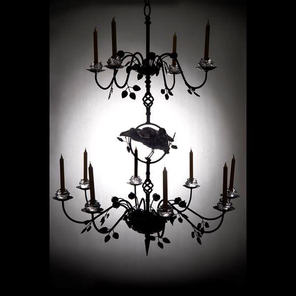 Ravenscrown Candle Chandelier