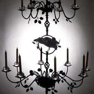 Ravenscrown candle chandelier