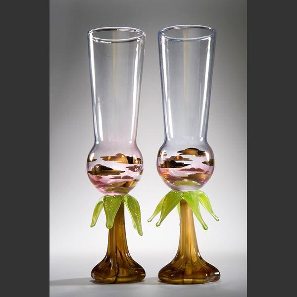Jungle Champagne Glass