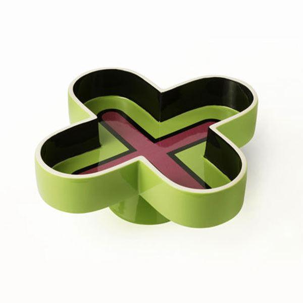 Symbolik: Green Bowl by Karim Rashid