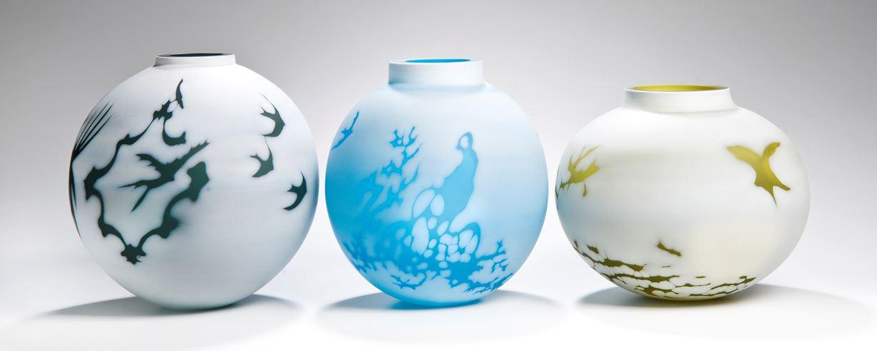 Cameo Series Vases by Sarah Wiberley