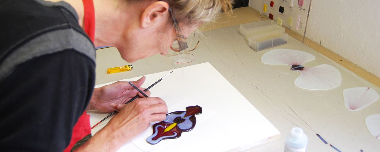 Creating Glass Orchids with Laura Hart