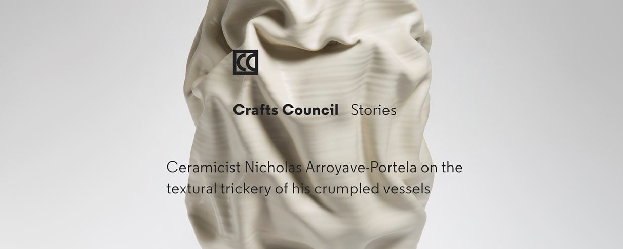 Crafts Council Stories | Ceramicist Nicholas Arroyave-Portela by Alice Morby