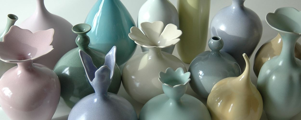 New porcelain by Vivienne Foley