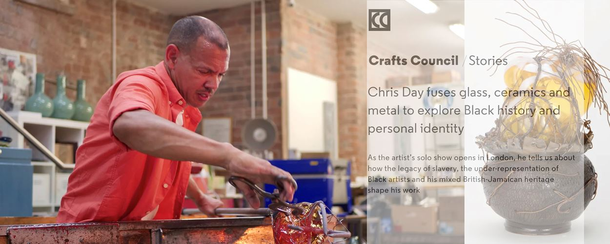 Crafts Council Stories   Chris Day interview with Jareh Das