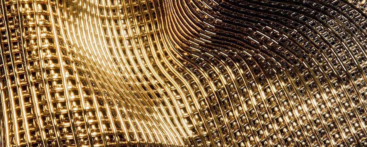 Glistening Golds at Vessel Gallery