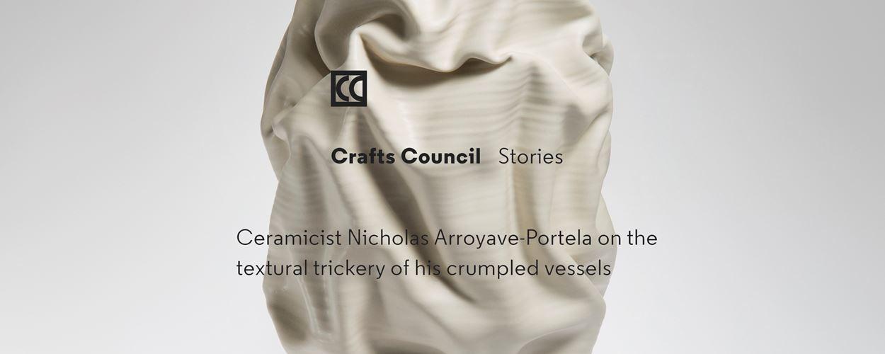Crafts Council Stories   Ceramicist Nicholas Arroyave-Portela by Alice Morby